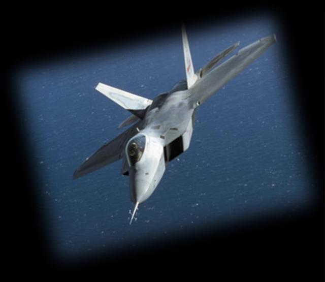 """画像2: 最新鋭ステルス戦闘機 """"F-22ラプター"""" を時計で見事に再現"""