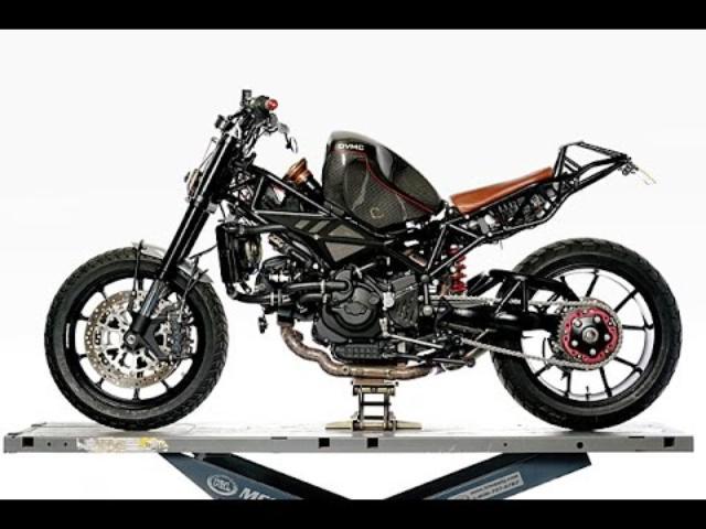 画像: Custom Ducati ST2 by DVMC Motorcycles www.youtube.com