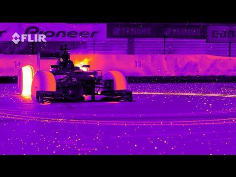 画像: Red Bull Racing's RB8 Tearing it Up in Infrared youtu.be