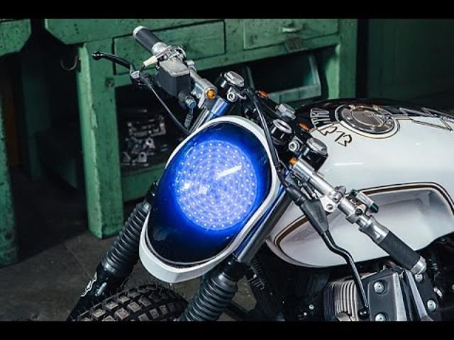 画像: Custom Moto Guzzi V7 by Emporio Elaborazioni Meccaniche www.youtube.com