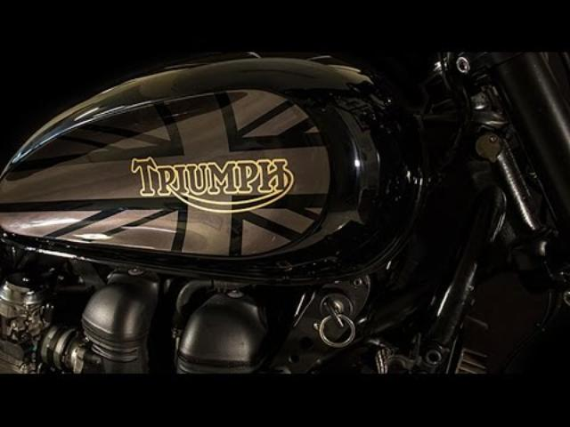 画像: Triumph Scrambler by Padova Custom www.youtube.com