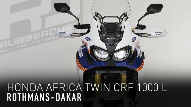 画像: Honda Africa Twin CRF 1000 L Rothmans Details youtu.be