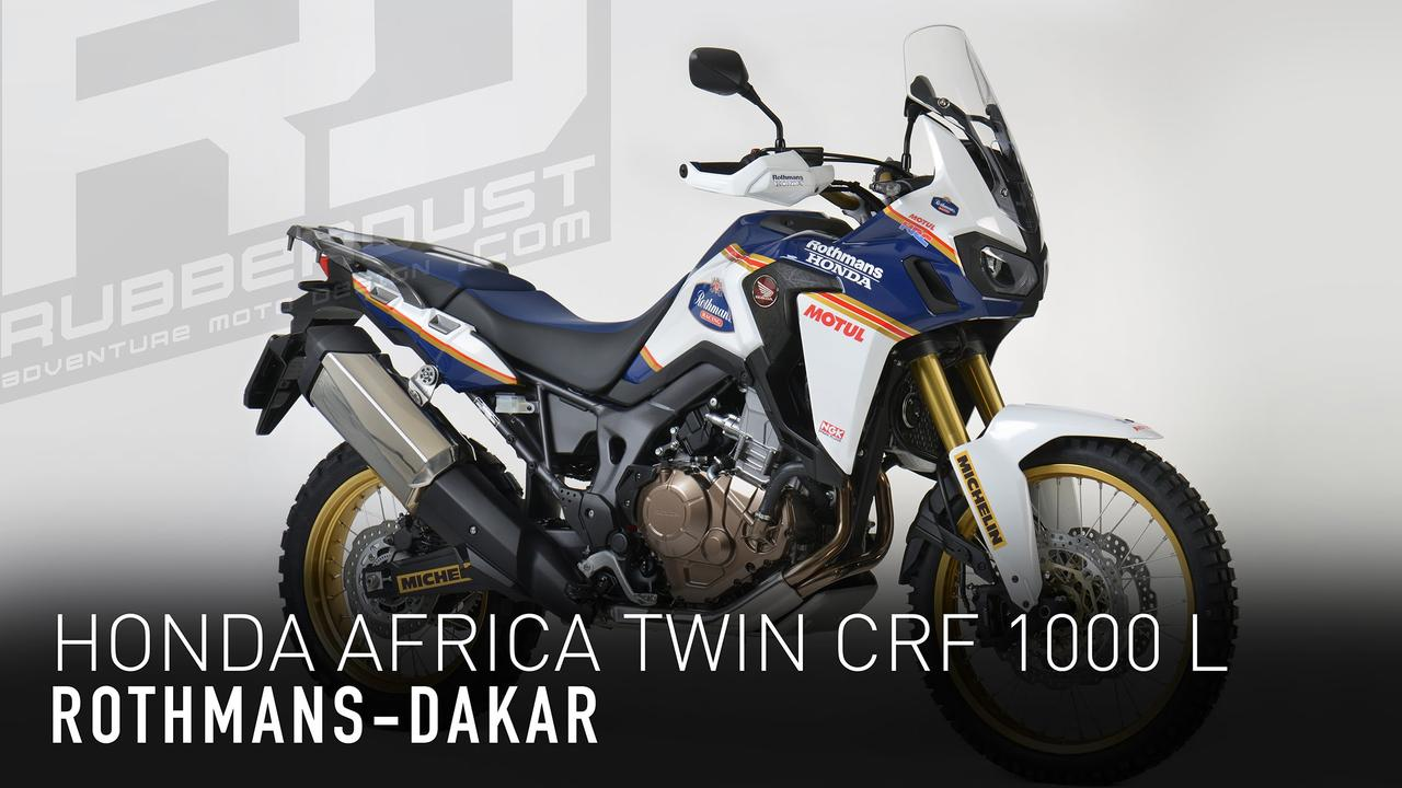 画像: Honda Africa Twin CRF 1000 L Rothmans youtu.be