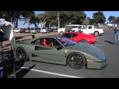 画像: Matte Green Ferrari F40 youtu.be