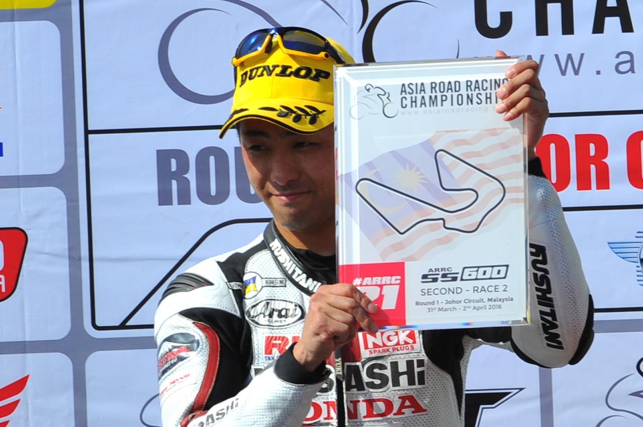 画像: 昨年チャンピオンの高橋裕紀選手