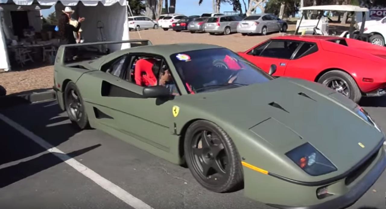 画像1: 戦闘機のようなフェラーリF40あり?なし?