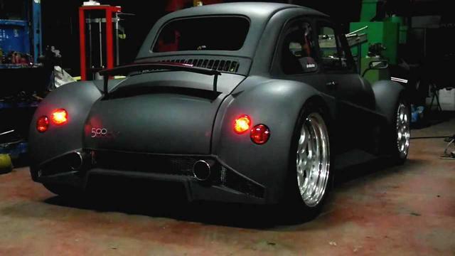 画像: Fiat 500 Lamborghini V12 Sound youtu.be
