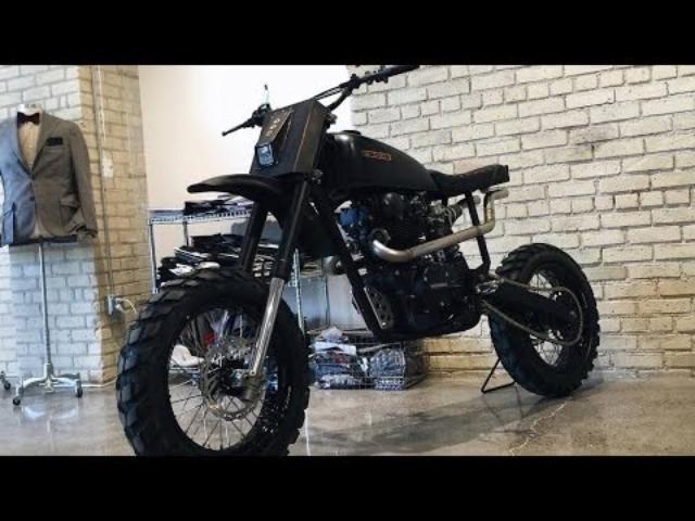 画像: Custom Honda CB450 by CROIG.co www.youtube.com