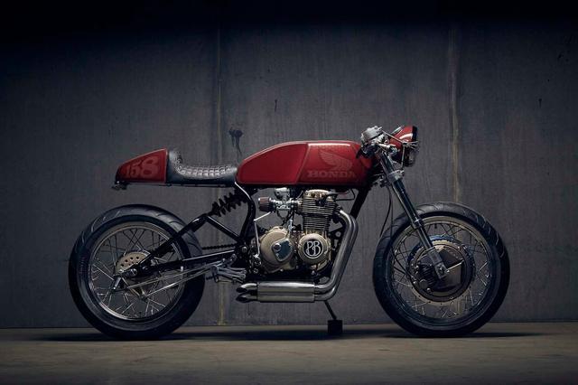 画像: Honda CB400 Custom Cafe Racer by PopBang Classics www.youtube.com