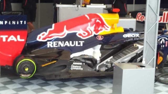 画像: Red Bull F1 Engine warming up & German National Anthem youtu.be