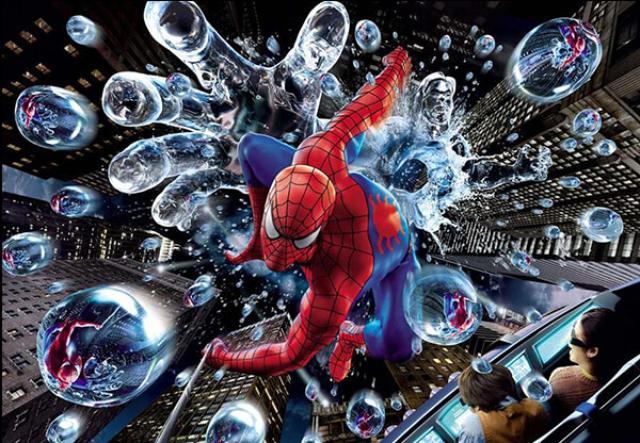 画像: そこはスパイダーマン・ライド www.usj.co.jp