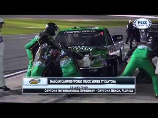 画像: NASCAR Camping World Trucks Series 2015 Round 1 Daytona (ENG) FULL RACE youtu.be