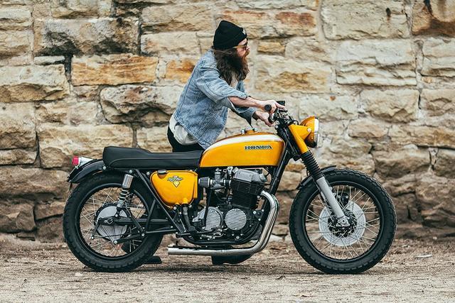画像: Super Clean Honda CB750 by Rawhide Cycles www.youtube.com