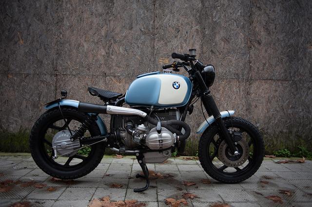 画像: BMW R80カスタム www.fmwmotorcycles.com
