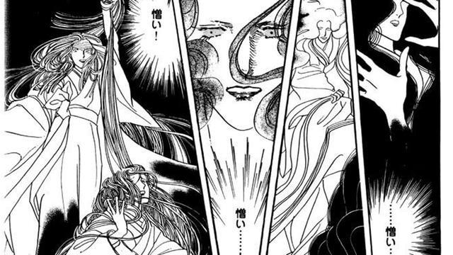 画像: こ、こわいよぉ。光源氏の生涯にわたって、二人の女性を呪い殺し、一人を出家に追い込む、恐ろしい怨霊。 恨みを買わないようにしましょう、みなさま。©大和和紀先生