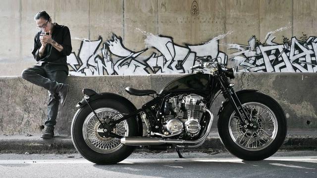 画像: Honda CB650 Custom by ZIFE Design www.youtube.com