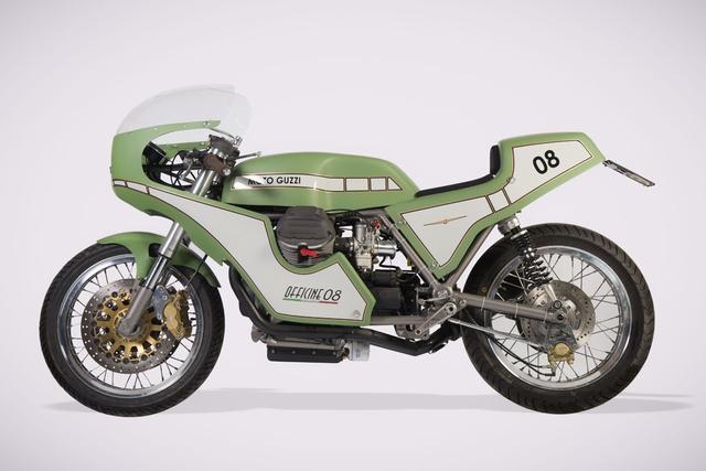 画像: Custom Moto Guzzi 1000SP by Officine 08 www.youtube.com