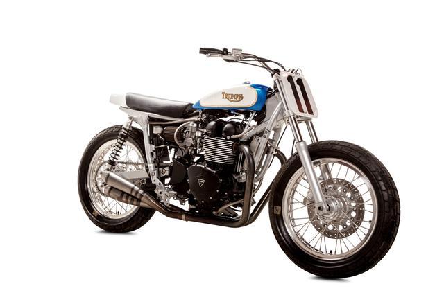 画像3: プロサーファーが愛するカスタムバイクを作ったのは・・ 米国カスタムビルダー British Custom。