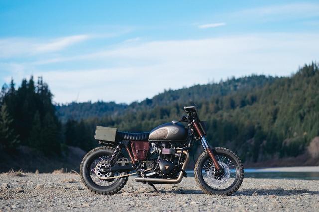 画像2: プロサーファーが愛するカスタムバイクを作ったのは・・ 米国カスタムビルダー British Custom。