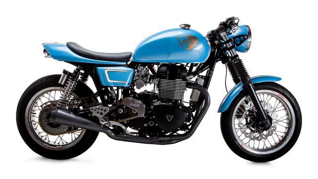 画像4: プロサーファーが愛するカスタムバイクを作ったのは・・ 米国カスタムビルダー British Custom。