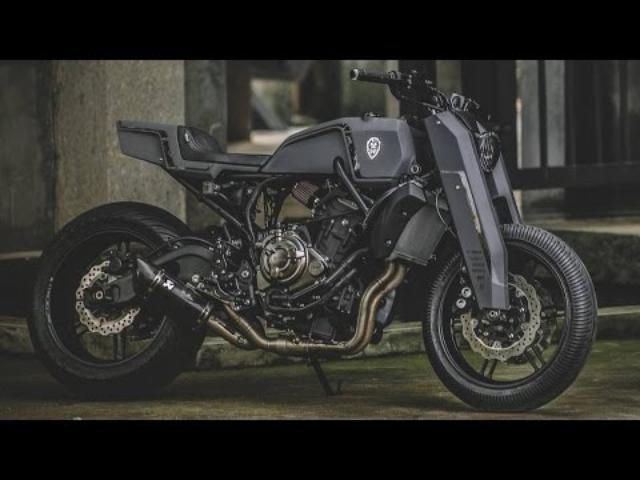 画像: 台湾のカスタムビルダー Rough Crafts、今度はMT-07をごっつく仕上げる - LAWRENCE - Motorcycle x Cars + α = Your Life.