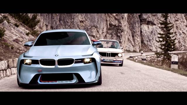 画像: BMW 2002 Hommage concept www.youtube.com