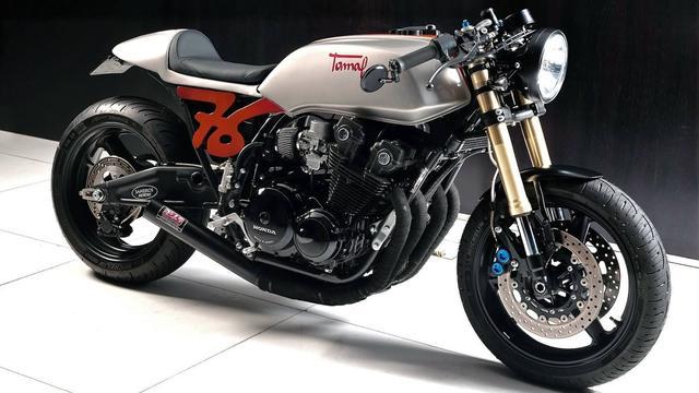 画像: Custom Honda CB900F by Bol d'Or Cafe Racer www.youtube.com