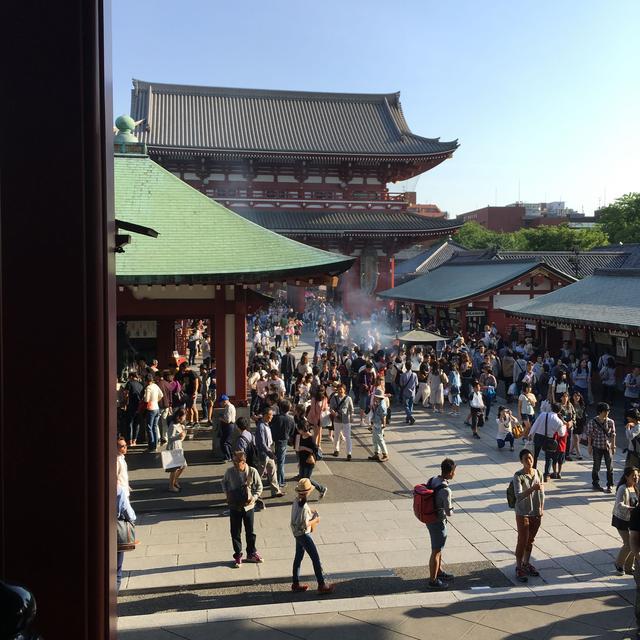 画像: 10年ぶりの浅草寺