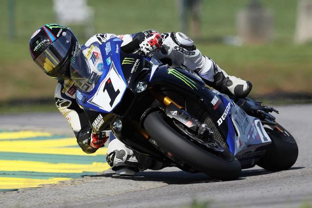 画像: ゼッケン1をつけて、今年のモトアメリカを走るバービアー。代役としてSBKに挑戦します! www.cycleworld.com