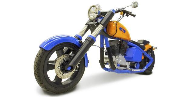 画像: 3Dプリントされたハーレー・ダビッドソン - LAWRENCE - Motorcycle x Cars + α = Your Life.