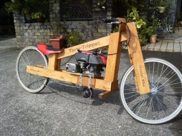 画像: Wooden motorcycle making 「木製バイクの制作」 youtu.be