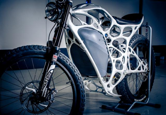 画像: Meet Light Rider: The World's First 3-D–Printed Motorcycle   Architectural Digest