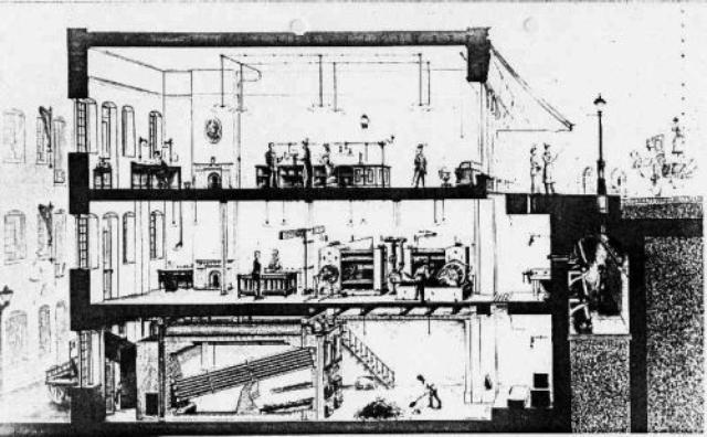 画像: エジソンの会社が作った発電所。初期の電球のフィラメントは京都の竹だったの知ってました? www.ianvisits.co.uk