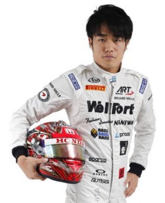 画像: 現在23歳 ドライバーとしての将来が決まる大事な時期です www.art-grandprix.com