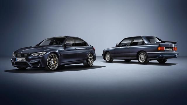 """画像: BMW M3 """"30 Years M3"""" edition www.youtube.com"""