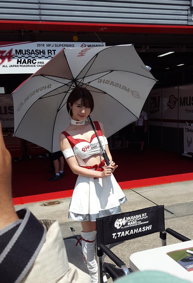 画像6: 【綺麗なお姉さんは好きですか?】 各チームのRQからチームを知ってみよう!!! 2016年 MFJ全日本ロードレース選手権Rd.4 @ツインリンクもてぎvol.2