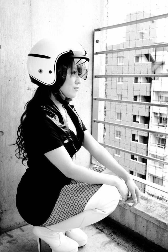 画像1: グラビア【ヘルメット女子】Speed Racer vol.11