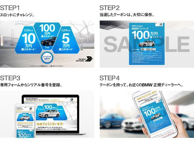 画像1: 【BMW誕生100周年記念】新車購入サポート・クーポンを狙っていますぐチャレンジ!チャンスは6月6日まで!