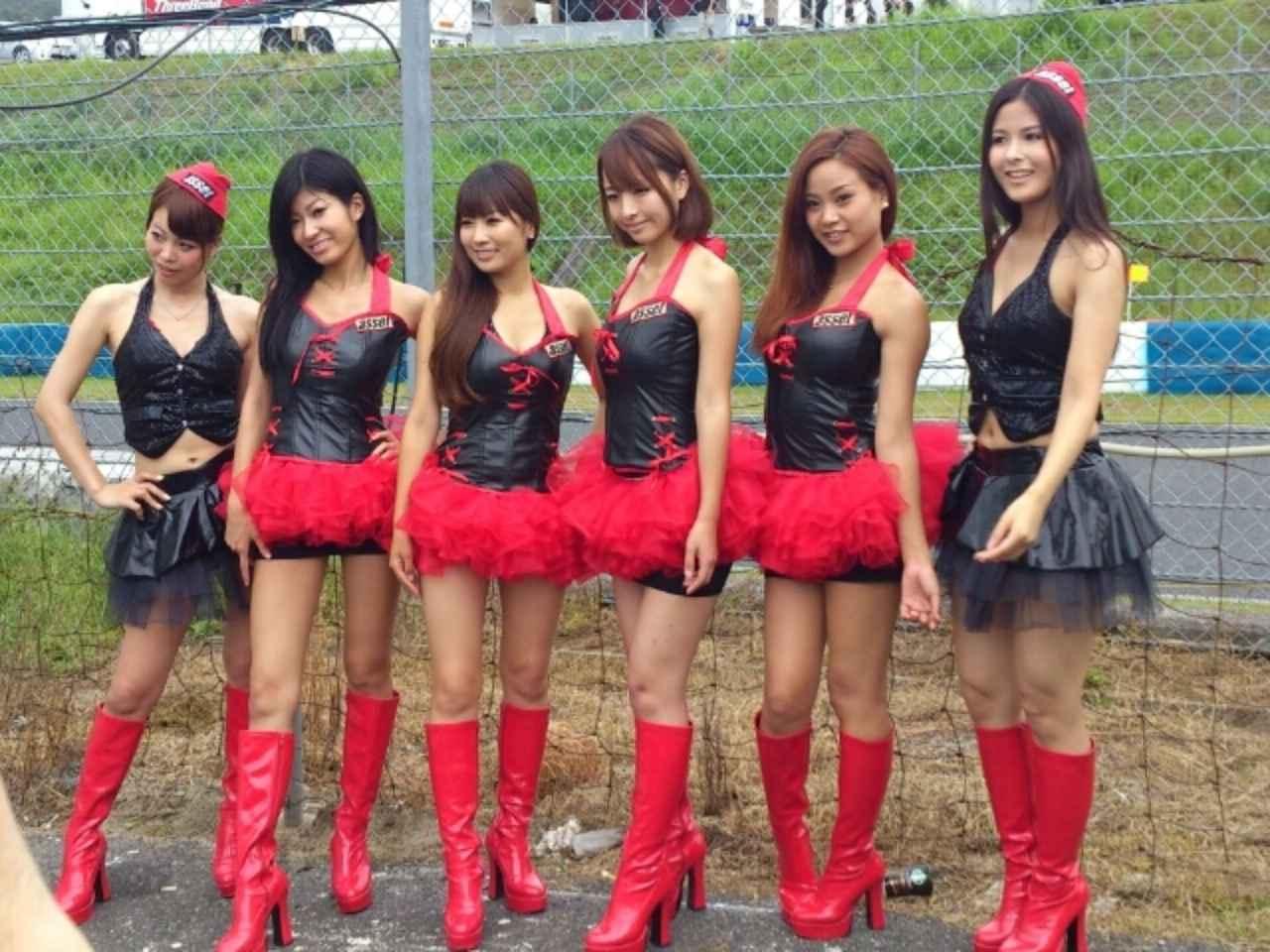 画像1: 【綺麗なお姉さんは好きですか?】 各チームのRQからチームを知ってみよう!!! 2016年 MFJ全日本ロードレース選手権Rd.3@ツインリンクもてぎvol.4