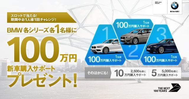 画像: 【BMW誕生100周年記念】THE NEXT 100 クーポン・キャンペーン