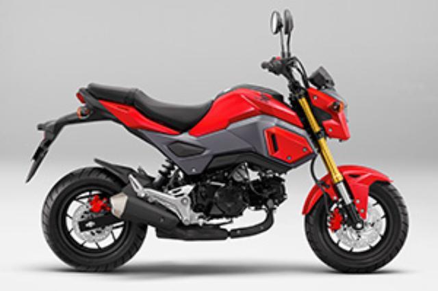 画像: 125ccスポーツモデル「グロム」の外観を一新し発売