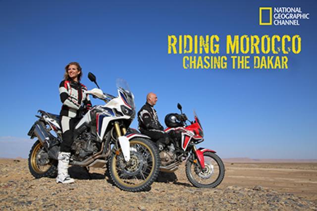 画像: ナショナルジオグラフィックチャンネル制作「Riding Morocco: Chasing the Dakar」にAfrica Twinを提供 6/14(火)より世界170以上の国と地域で放送予定