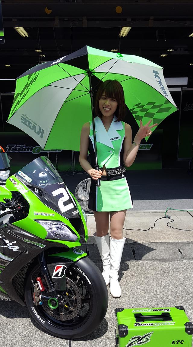 画像8: 【綺麗なお姉さんは好きですか?】 各チームのRQからチームを知ってみよう!!! 2016年 MFJ全日本ロードレース選手権Rd.3@ツインリンクもてぎvol.5
