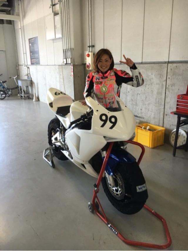 画像: Reina Shiraishi れいな99 レーシングライダーブログ