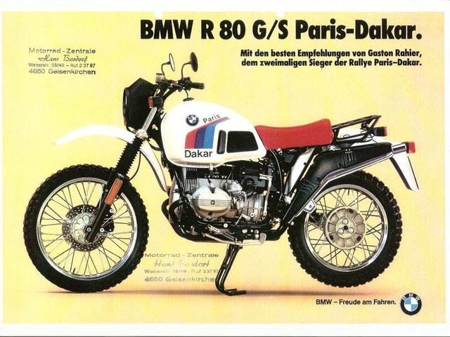 画像: BMW R80 G/S Paris-Dakar www.bmbikes.co.uk