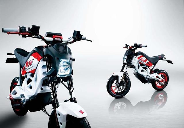 画像: 2013年の東京モーターショーで展示された、スズキ・エクストリガー。 www.cycleworld.com