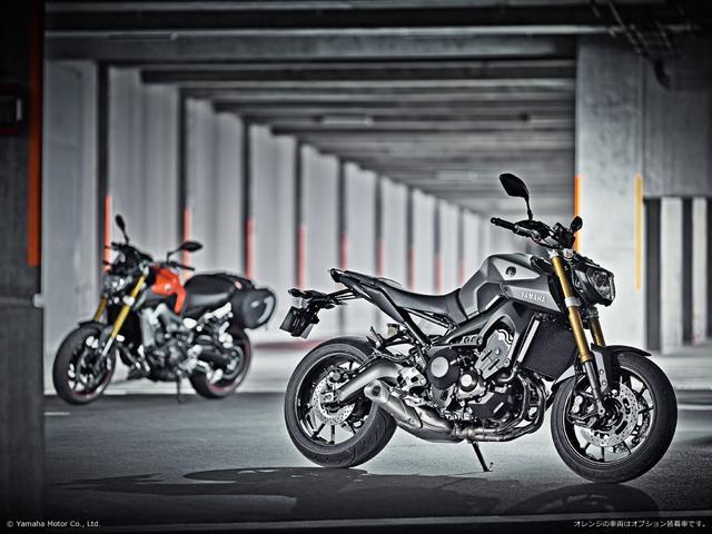 画像: ヨーロッパでの600-900ccの盛り上がりにヤマハの提案するスタンダード・スポーツバイク MT-09 www.yamaha-motor.co.jp