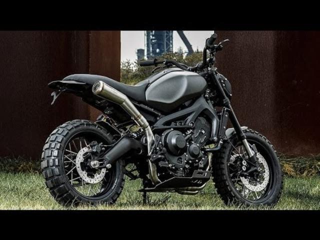 画像: Custom Yamaha XSR900 by Wrenchmonkees www.youtube.com