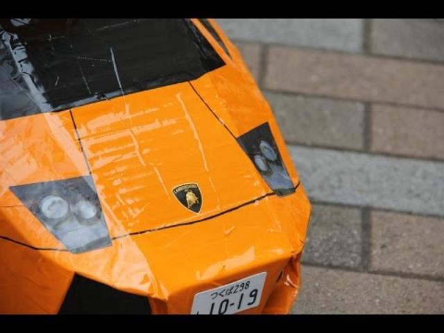 画像: [ダンボールで作ってみた] ランボルギーニ ムルシエラゴ Making of Lamborghini Murcielago ダンボルギーニ youtu.be