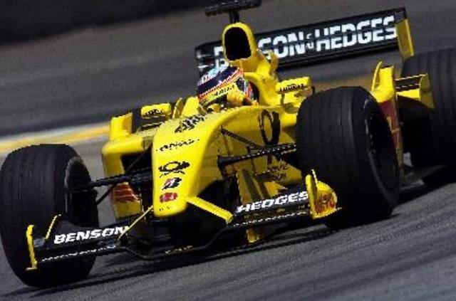 画像: Jordan Honda EJ12 (2002年) 【ドライバー:佐藤琢磨】 佐藤琢磨のデビューマシン。シーズン前半は苦戦したものの、第13戦ハンガリーGPの予選でフィジケラが速さをみせ、シーズンベストの5位。またイギリス・シルバーストンでのテストが実り、佐藤琢磨が母国・日本GPで6位入賞を果たした。